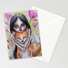 Kitsune Stationery Cards