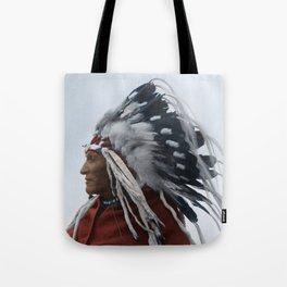 Lazy Boy - Blackfoot Indian Chief Tote Bag