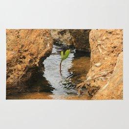 Sapling in the Ocean Rug