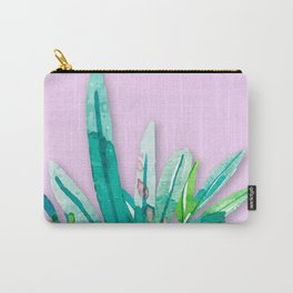 Tropics in Pink Carry-All Pouch