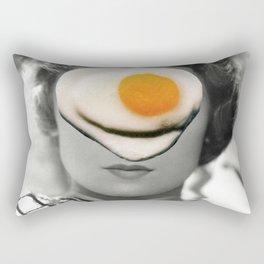 Thank God It's Fried Egg Rectangular Pillow