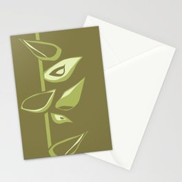 Avacodo flowers II Stationery Cards
