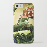 poison ivy iPhone & iPod Cases featuring Poison Ivy by Andrew Sebastian Kwan