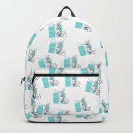 Blue Jewelry Box Backpack