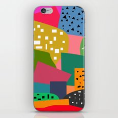 Bright shapes iPhone Skin