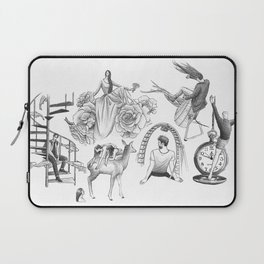 Ink Thoughts Six Laptop Sleeve