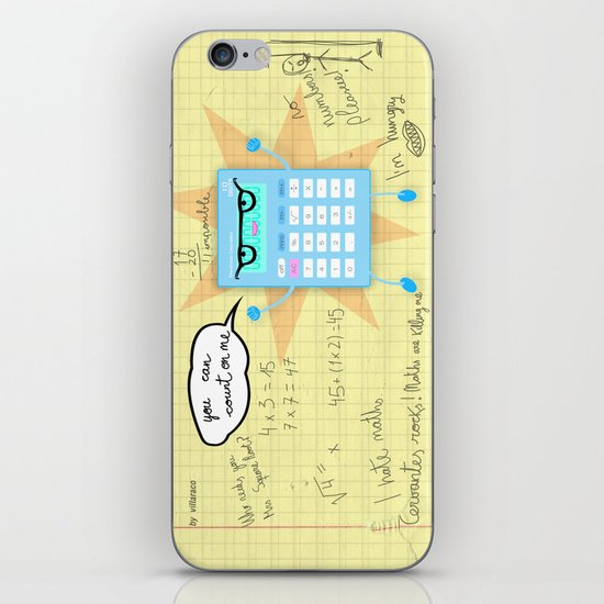 You can count on me! iPhone & iPod Skin