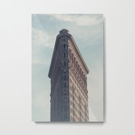 Flat Flat Iron - NYC Metal Print