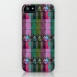 moje miasto_pattern no1 iPhone Case