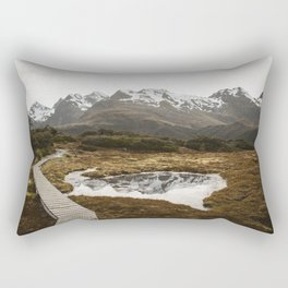 Mountain Tarn Rectangular Pillow