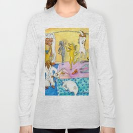 Party Party In the Hotel Room Long Sleeve T-shirt