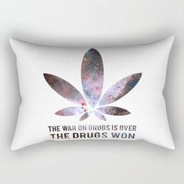The Drugs Won (3) Rectangular Pillow