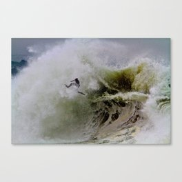 Wipeout  at the Wedge - Newport Beach, CA Canvas Print