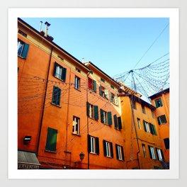 Bologna Building Art Print