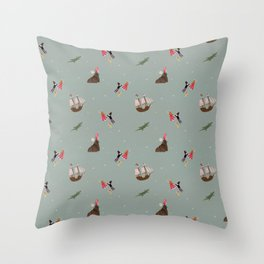 Neverland Pattern Throw Pillow