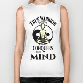 Conquer Your Mind Biker Tank