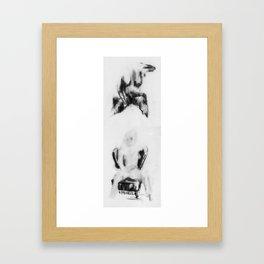 ghosts 001 Framed Art Print