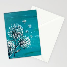 Simple Dandelion Wishes Stationery Cards