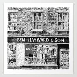 Ben Haywards Art Print
