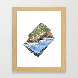 Pointreef Framed Art Print