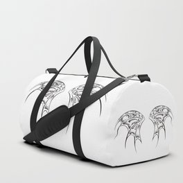White dragon wings Duffle Bag