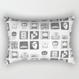 Vignettes - Yume Nikki Rectangular Pillow