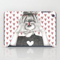 valentine iPad Cases featuring Valentine by Sara Elan Donati