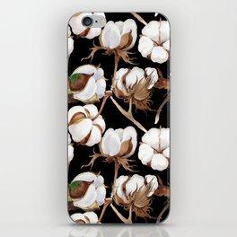 Cotton Flower Pattern 04 iPhone Skin