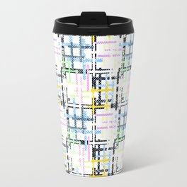 Checkered pattern. Travel Mug
