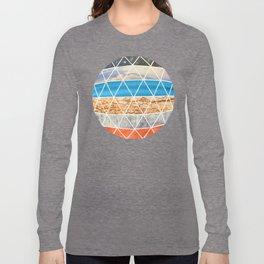 Eco Geodesic  Long Sleeve T-shirt