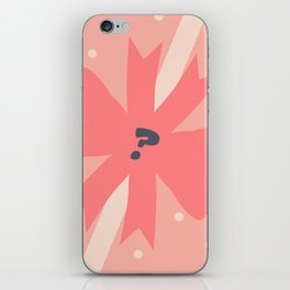 Don't Pick Up the Bomb iPhone Skin