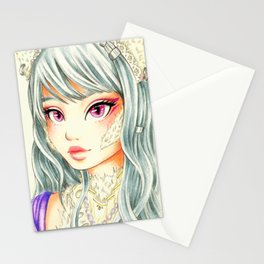 Nekogirl Stationery Cards