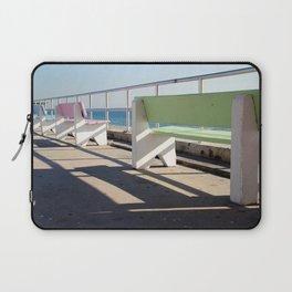 Beach Benches Laptop Sleeve