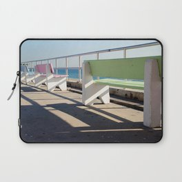 Beach Benches Laptop Sleeve