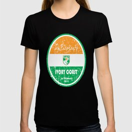 World Cup Football - Ivory Coast (Distressed) T-shirt