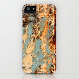 Rusted Train iPhone Case