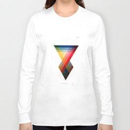 Prismatic Color Long Sleeve T-shirt