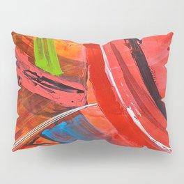 IBIZA - colorful abstract painting Pillow Sham