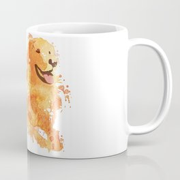 Golden Retriever Kaffeebecher