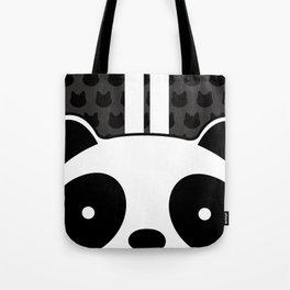 Racing Panda Tote Bag