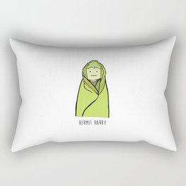 Hermit Harry by Cheyenne Austin Rectangular Pillow
