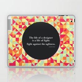 The life of a designer Laptop & iPad Skin