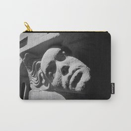 Face from Iona Abbey Carry-All Pouch