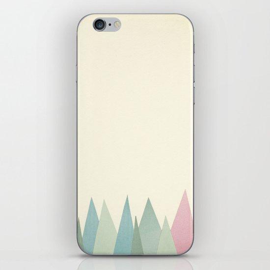 Snowy Mountains iPhone & iPod Skin