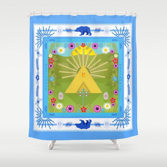 MIDSOMM∆R Shower Curtain