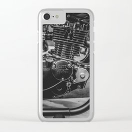 Engine Clear iPhone Case