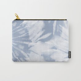 blue grey soft tie dye Carry-All Pouch