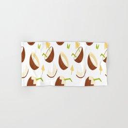 Summer Pattern Coconut Fruit Summer Gift for Women Hand & Bath Towel