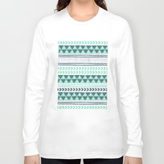 Winter Stripe Long Sleeve T-shirt