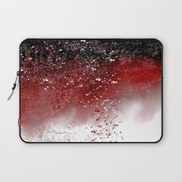 Red Abstract Laptop Sleeve